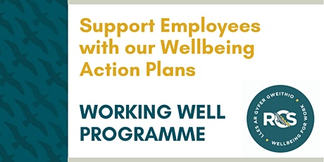 Support Employees with our Wellbeing Action Plans tickets