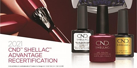 CND Shellac Digital Recertification tickets