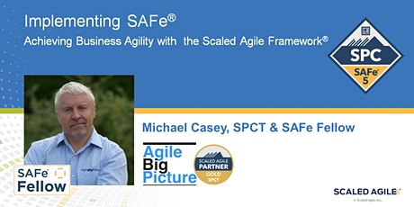REMOTE EDT - Implementing SAFe® with SPC Cert - Aug 2 *GUARANTEED TO RUN* tickets