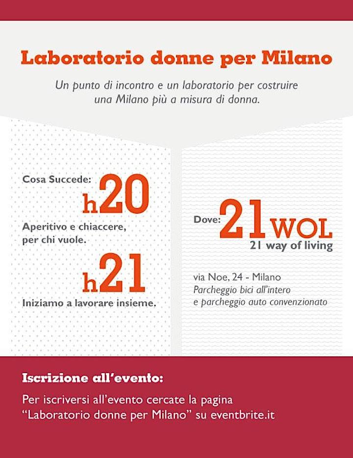 Immagine Laboratorio Donne per Milano