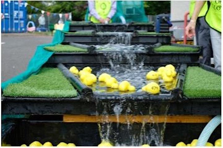 Doonfoot Primary School Duck Race image