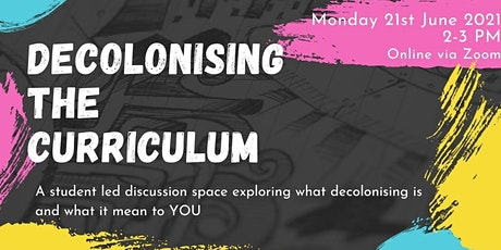 Decolonising the Curriculum tickets