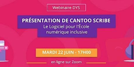 Cantoo Scribe, Logiciel pour l'École numérique inclusive billets