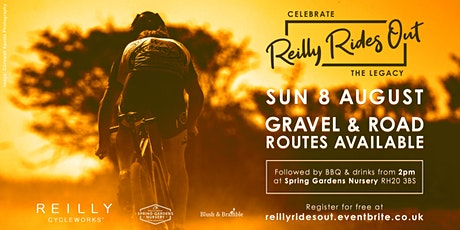 REILLY RIDES OUT (Mark Reilly Memorial Ride + BBQ) tickets