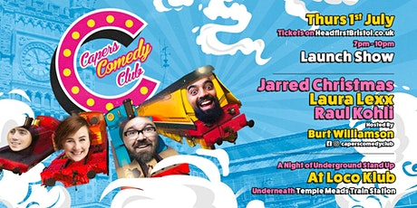 Capers Comedy Club Launch tickets