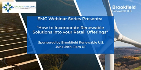 How to Incorporate Renewable Solutions into your  Retail Offerings tickets