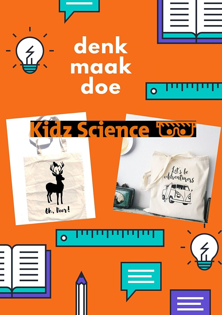 Afbeelding van Kidz Science presenteert: Plotter…bedruk zelf een