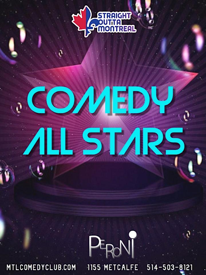 Comedy All Stars (Stand-Up Comedy ) MTLCOMEDYCLUB.COM image