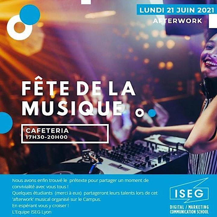 Image pour Fête de musique avec ISEG Lyon