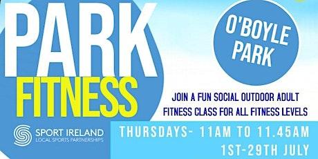 Park Fitness at O'Boyle Park tickets