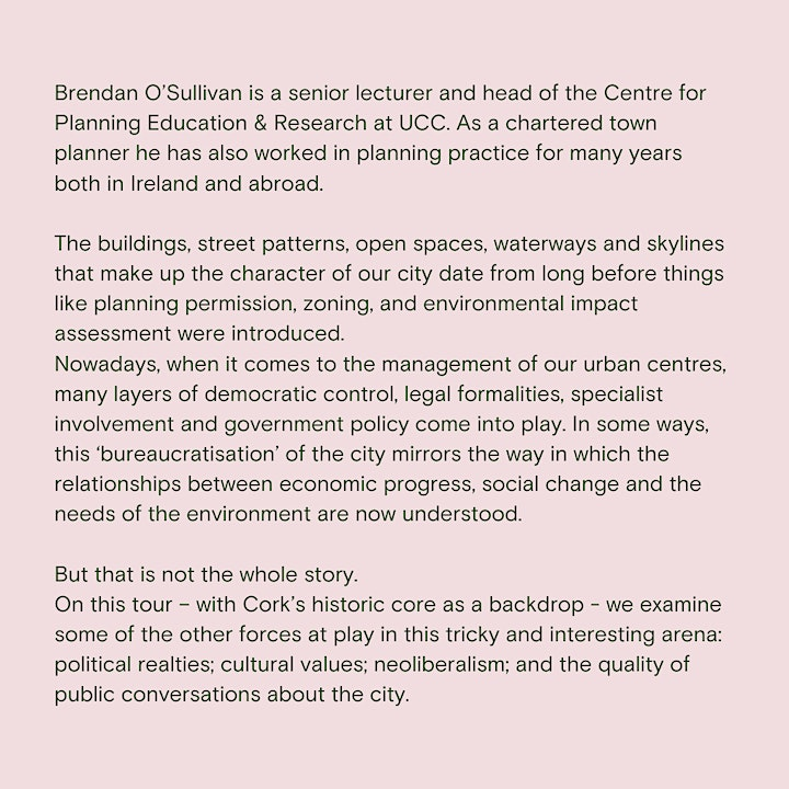 Managing change in the postmodern city with Brendan O'Sullivan image