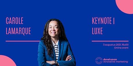 Keynote | Luxe tickets