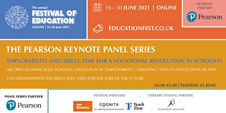 FoE -  Employability & skills: time for a vocational revolution in schools tickets