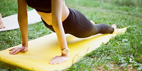 Yoga al parco con riequilibrio chakra biglietti