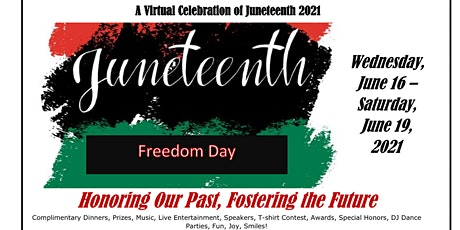 A Virtual Celebration of Juneteenth  2021 tickets