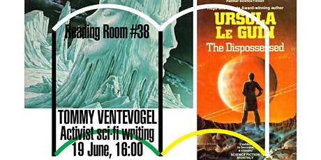 Reading  Room #38 – Activist sci-fi writing with Tommy Ventevogel tickets