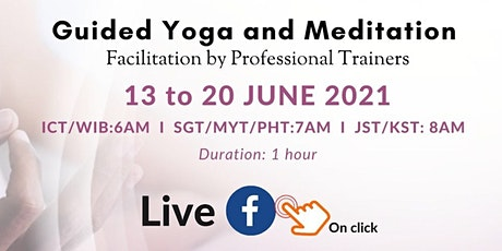 Guided Yoga and Meditation tickets