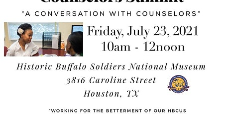 """Counselors Summit - """"A Conversation with Counselors"""" tickets"""