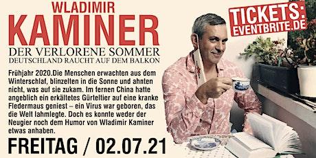 """Lesung: Wladimir Kaminer """"Der verlorene Sommer"""" Tickets"""