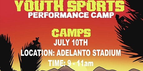 The High Desert Youth Sports Performance Camp tickets