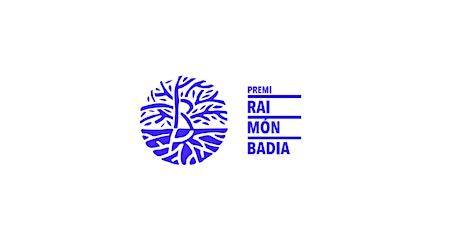 PREMI RAIMON BADIA D'EDUCACIÓ NO FORMAL I COOPERATIVISME tickets