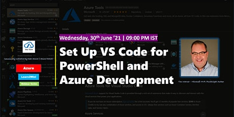 Learn to Set Up VS Code for PowerShell and Azure Development - Learn2Win tickets