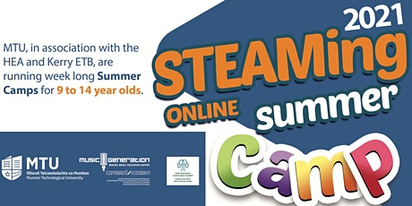 STEAMing Online Summer Camps 2021 tickets