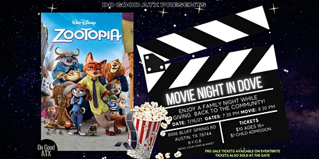 Movie Night In Dove tickets