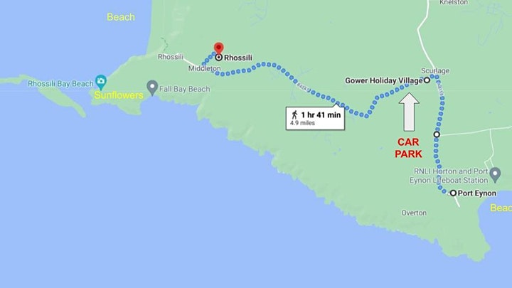 Park & Ride for Rhossili and Port Eynon, Gower image
