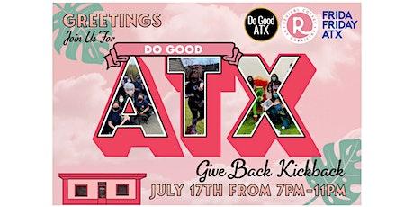 The Give Back Kickback tickets