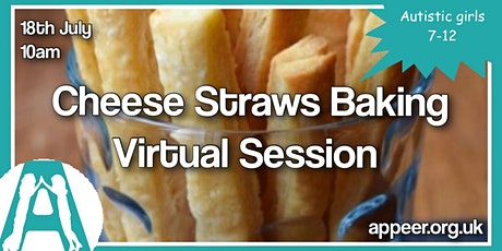 Girls Appeer Online Session-Cheese Straws & Straw Arts and Crafts (7-12yrs) tickets