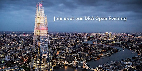 DBA Open Evening at The Shard tickets