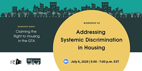 Addressing Systemic Housing Discrimination in the GTA tickets