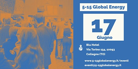 5-15 Global Energy Piemonte biglietti