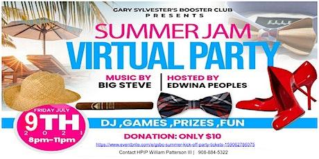 GSBC Summer Kick-off party. billets
