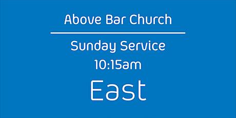 Above Bar Church   East -10:15am, 20th June 2021 Sunday Service tickets