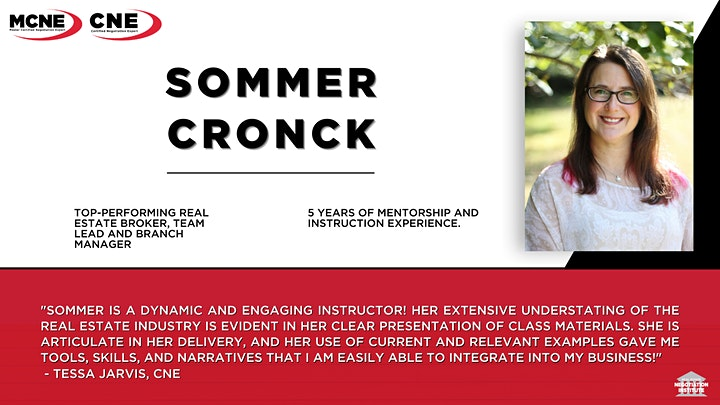 Certified Multiple Offers Expert (CMOE) -  Zoom Class (Sommer Cronck) image