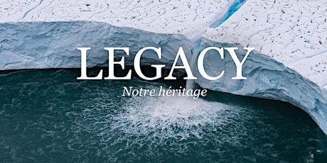 """Projection """"Legacy"""", de Yann Arthus Bertrand tickets"""