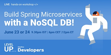 Cloud-Native Workshop -  Build Spring Microservices with a NoSQL DB tickets