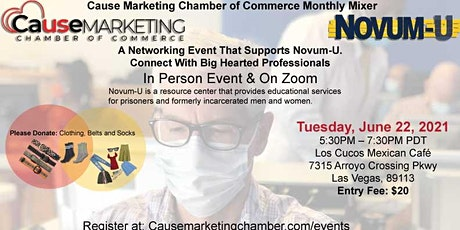 Cause Marketing Chamber Monthly Mixer June 22 tickets