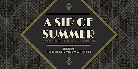 A Sip of Summer tickets