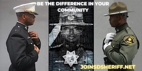 San Diego Sheriff's Department Virtual Employment Information Event tickets