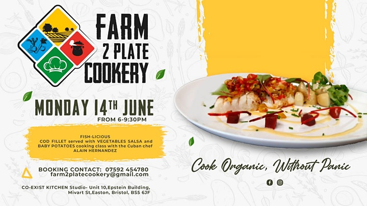 Farm2Plate Cookery - Cuban Cookery Course image