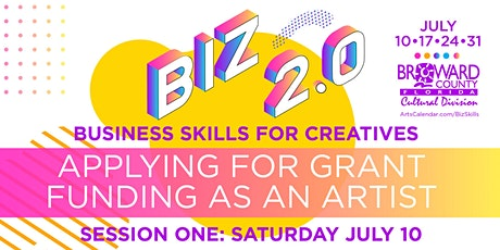 Business Skills for Creatives: Applying for Grant Funding as an Artist tickets