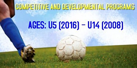 Competitive and Developmental Soccer Programs (U5-U14) tickets