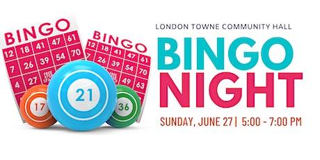BINGO Night London Towne Community Hall tickets