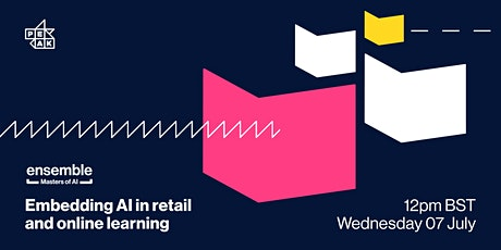 Ensemble   Embedding AI in retail and online learning biglietti