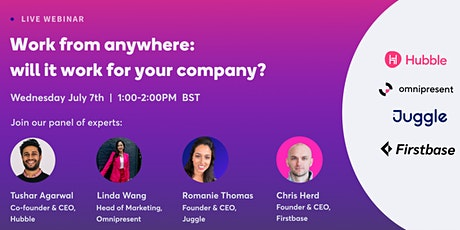 Work from anywhere: will it work for your company? tickets