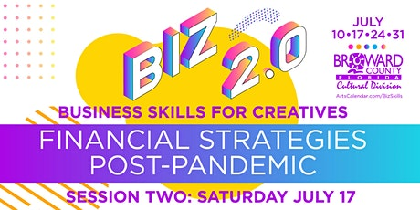 Business Skills for Creatives: Financial Strategies Post-Pandemic tickets