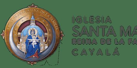 Santa Misa ISMRF del 12 al 19 de Junio 2021 entradas